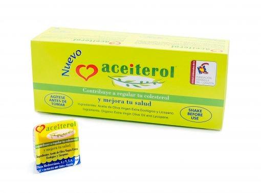 Aceiterol . Reduce el colesterol