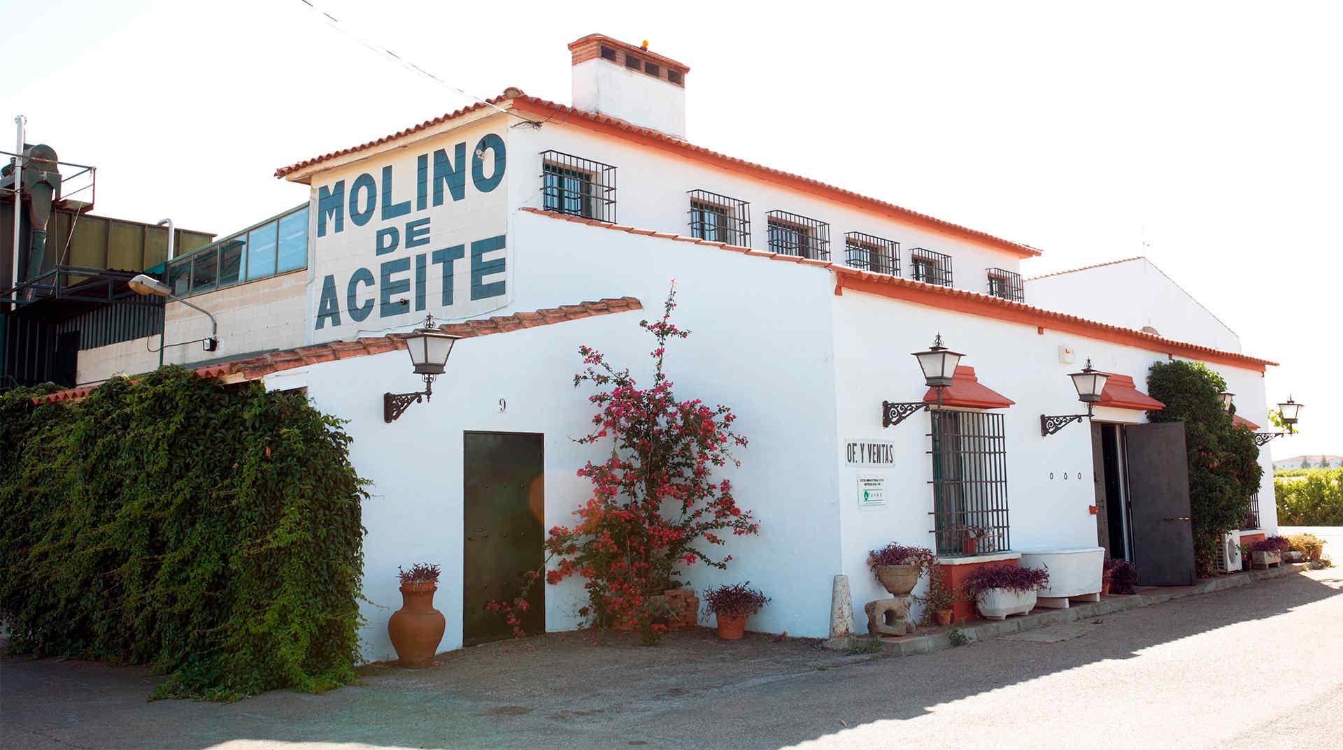 Fachada Molino de Zafra