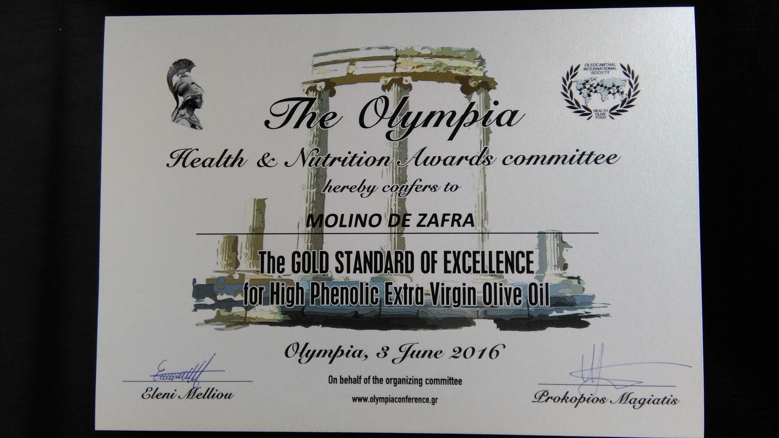 MZ triunfa en el Congreso Internacional de Oleocanthal